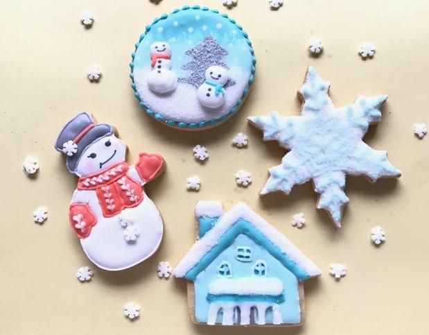 アイシングクッキーのイメージ画像 東京でアイシングクッキー教室をお探しの方はぜひ「アティナカルチャースクール」へ!【少人数でアイシングクッキー作りの体験ができて東京からも通いやすい!】