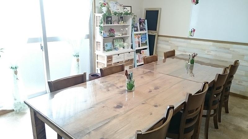 今のテーブル