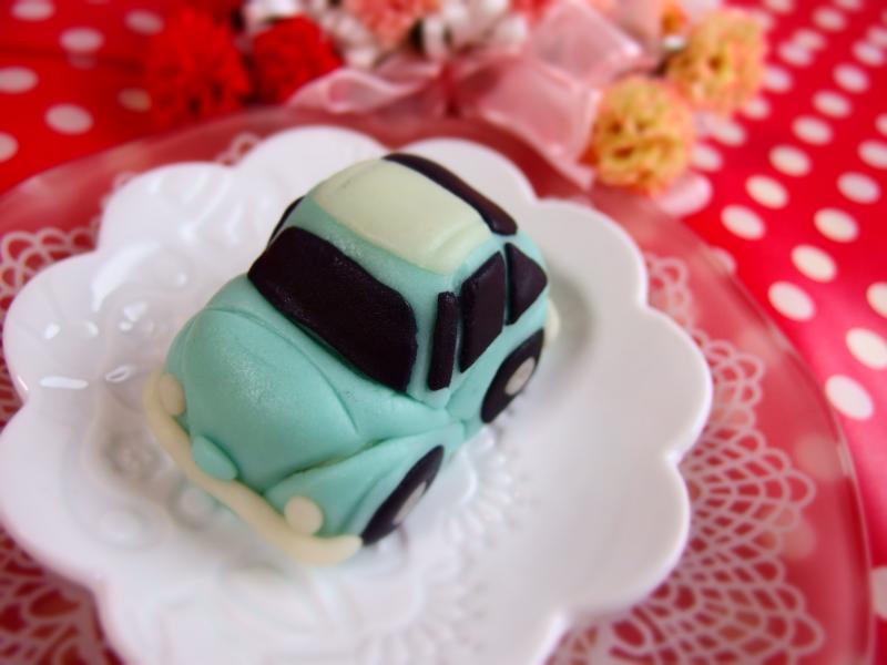 re-ミニカーケーキ④